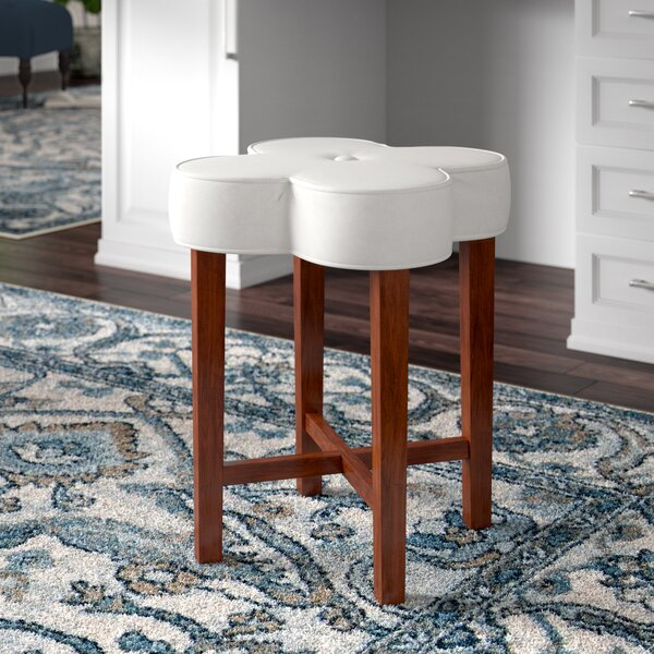 Pehrson Vanity Stool by Charlton Home
