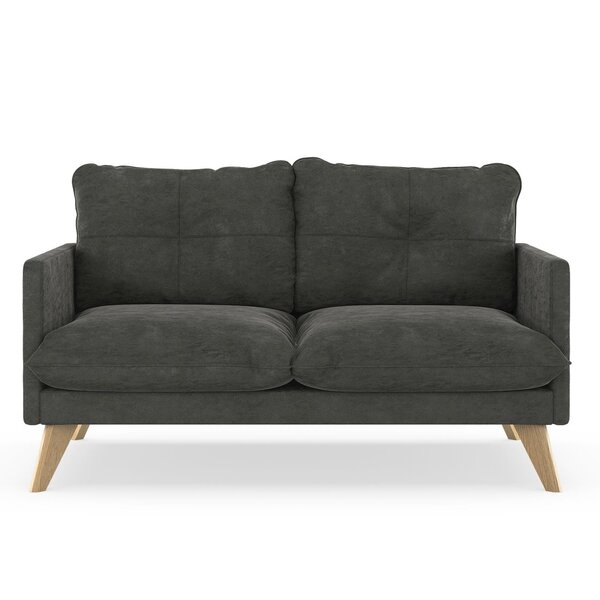 Covedale Micro Suede Loveseat by Foundry Select
