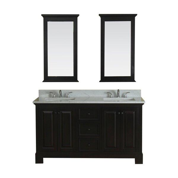 Cothern 60 Double Bathroom Vanity Set by Red Barrel Studio