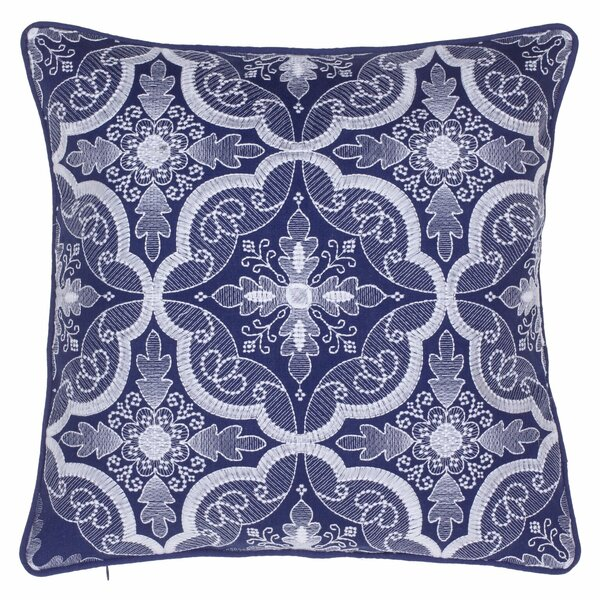 Embroidered Throw Pillow by 14 Karat Home Inc.