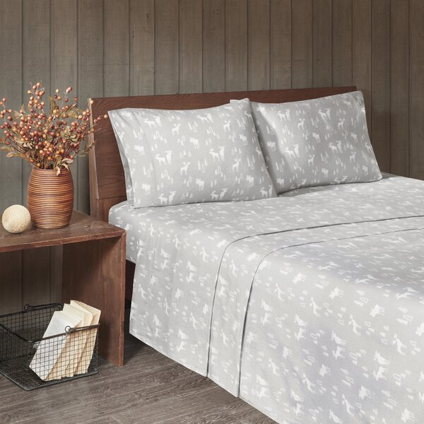 Flannel Cotton Sheet Set by Woolrich