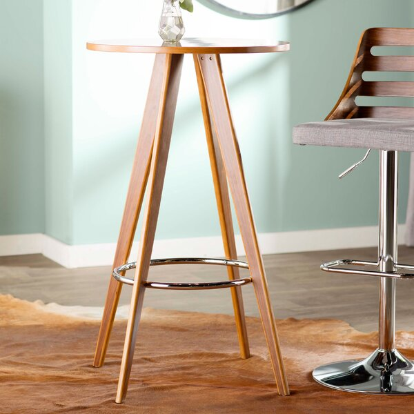 Peck Standing Pub Table by Wrought Studio