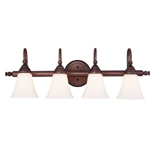 Where buy  Busch 4-Light Vanity Light By Charlton Home