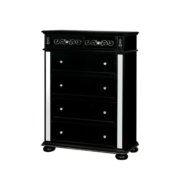 Averi Solid Wood 6 Drawer Chest by Rosdorf Park