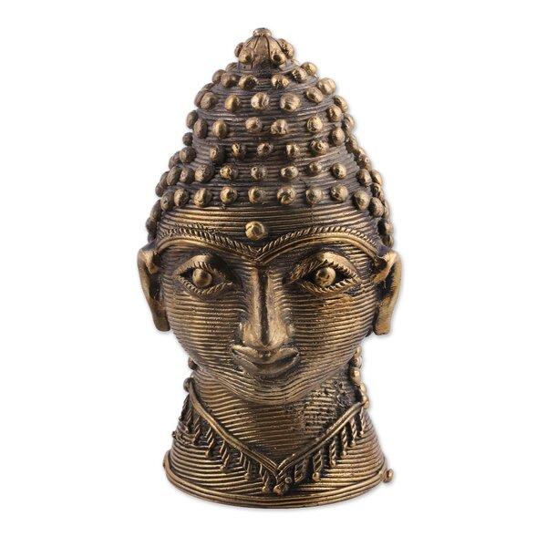 Chumbley Dhokra Buddha Bust by Bloomsbury Market