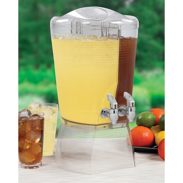 1.5 Gal Double Beverage Dispenser by Creative Bath