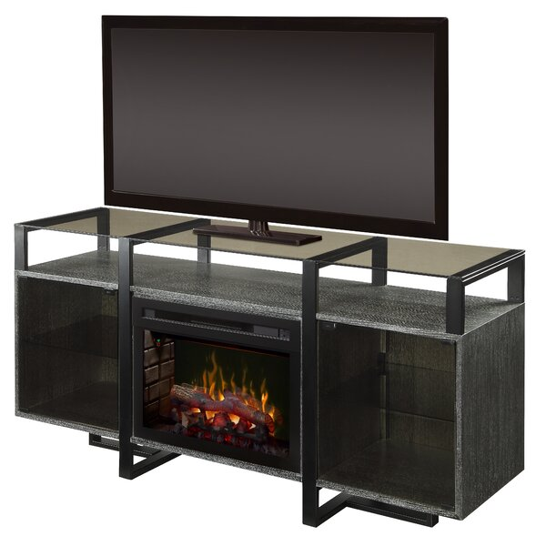Milo 67 TV Stand with Fireplace by Dimplex