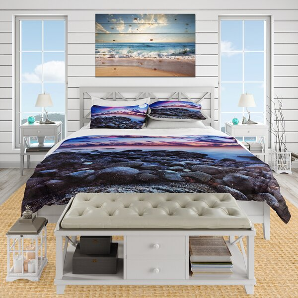 Nautical and Coastal Duvet Cover Set by East Urban Home