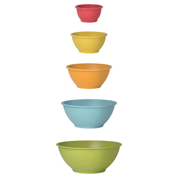 Ecologie Mixing 5 Piece Bowl Set by Now Designs