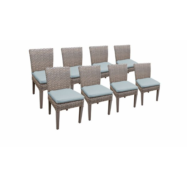Kenwick Patio Dining Chair with Cushion (Set of 8) by Sol 72 Outdoor