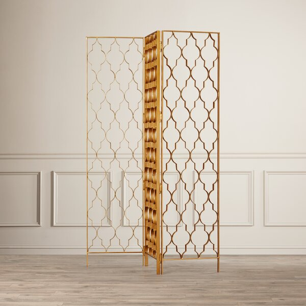 Periwinkle Vala Room Divider by House of Hampton