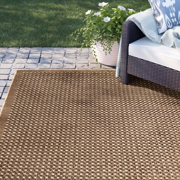 Dondale Weave Beige Indoor/Outdoor Area Rug by Sol 72 Outdoor