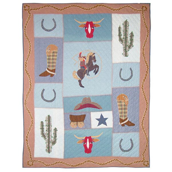 Cowgirl Single Reversible Quilt
