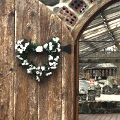 Heart 22 Silk Rose Wreath by August Grove