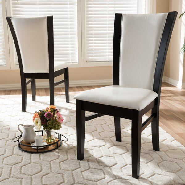 Joos Upholstered Dining Chair (Set of 2) by Ebern Designs Ebern Designs