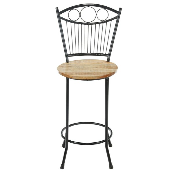 Albia French 27 Bar Stool by Fleur De Lis Living