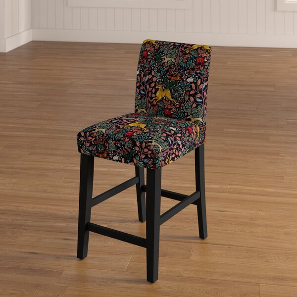 Blaisdell 26 Bar Stool by Bungalow Rose