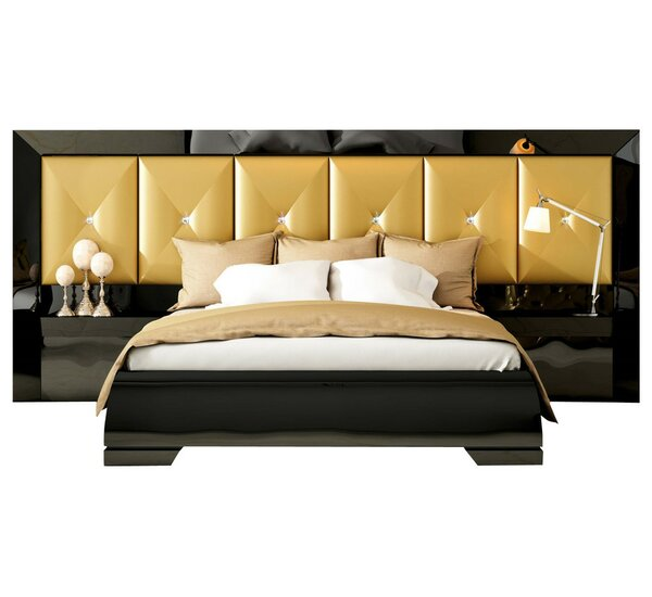 Kollman Special Headboard Standard 4 Piece Bedroom Set by Everly Quinn