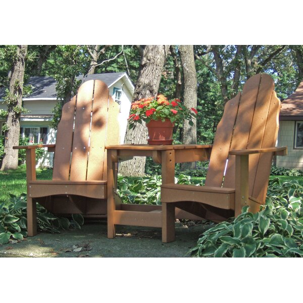 Traditional Adirondack Tete-a-Tete Bench by Tailwind Furniture