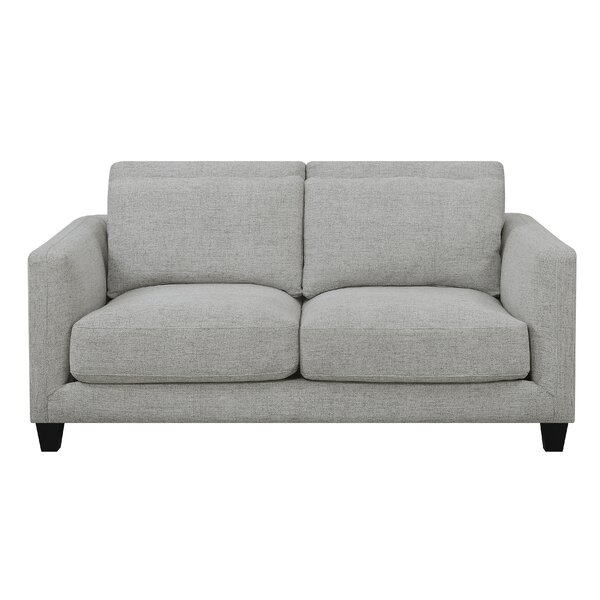 Cruise Double Cushion Loveseat By George Oliver Cool