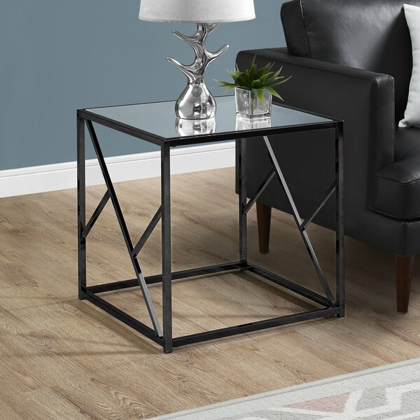 Vanauken End Table by Wrought Studio