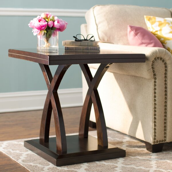 Claycomb Floor Shelf End Table By Winston Porter