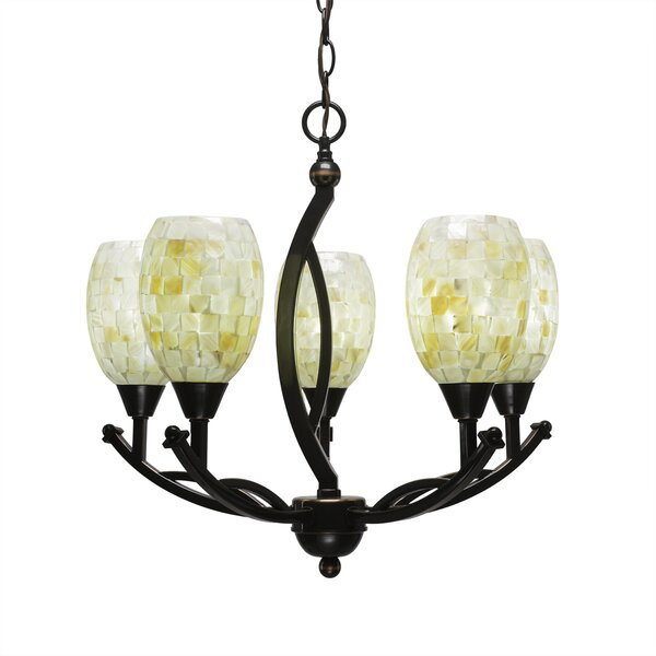 Eisenhauer 5 - Light Shaded Classic / Traditional Chandelier By Red Barrel Studio