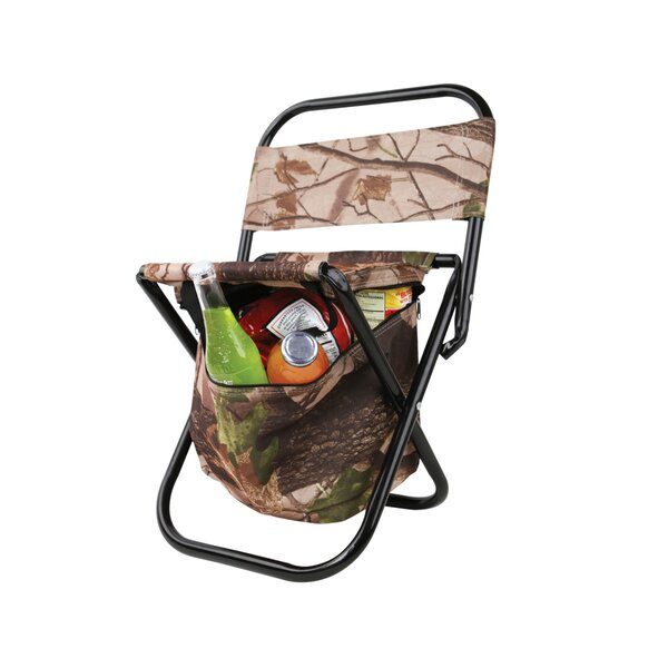 Outdoor Folding Chair with Cooler Bag by Kole Imports