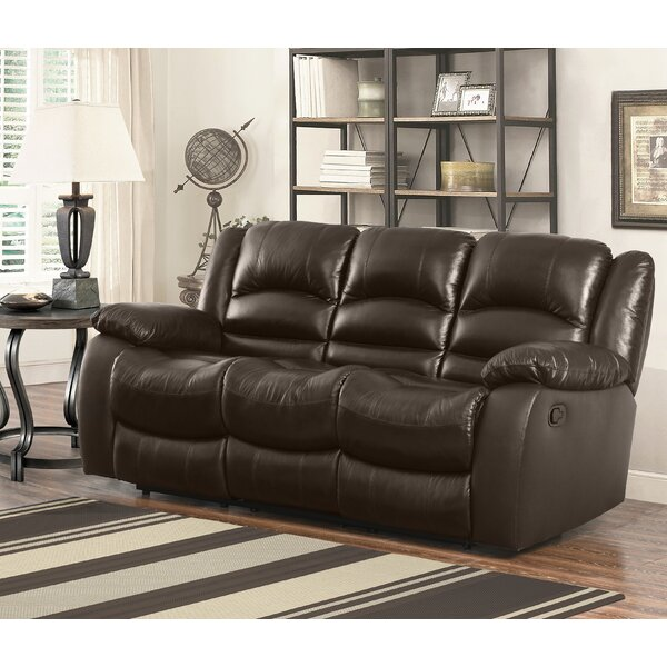 Get Valuable Jorgensen Reclining Sofa by Darby Home Co by Darby Home Co