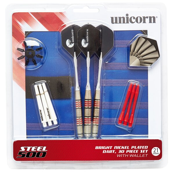 500 Dart Set (Set of 26) by Unicorn