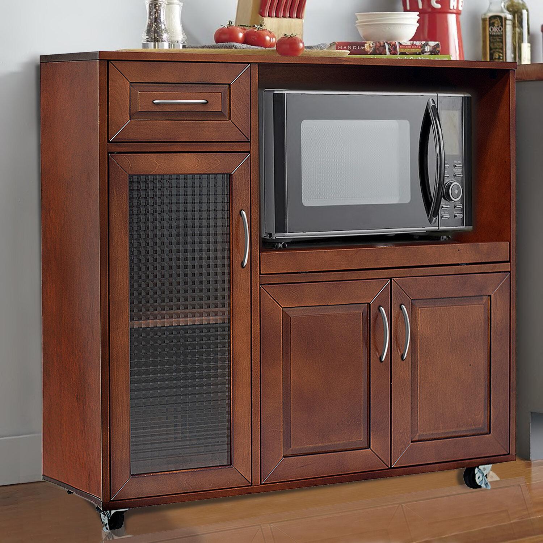Red barrel studio landfall microwave cart wayfair
