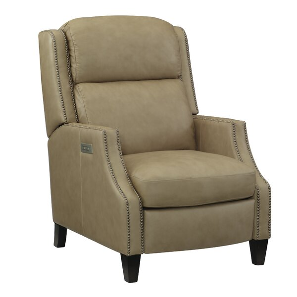 Turing Leather Power Wall Hugger Recliner By Bernhardt