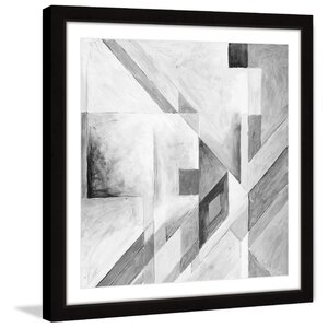 'Modern Translation' Framed Painting Print by Marmont Hill