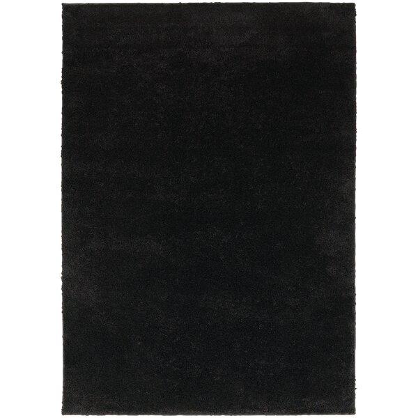 Hanson Black Area Rug by Threadbind