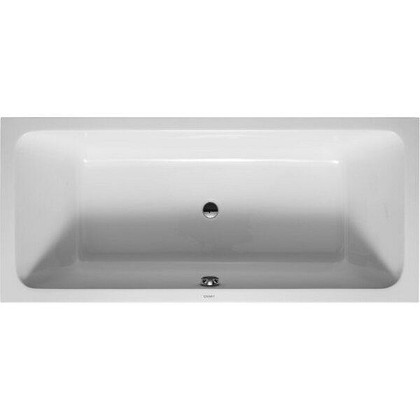 D-Code 70.87 x 31.5 Soaking Bathtub by Duravit
