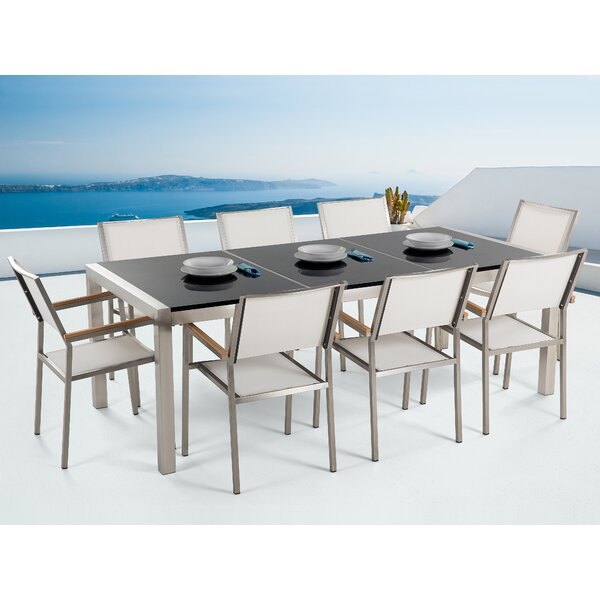 Seto 9 Piece Dining Set by Home Loft Concepts
