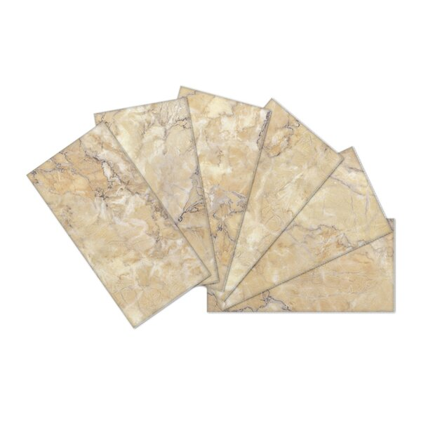 Crystal Skin 3 x 6 Glass Subway Tile in Brown/Gray by SkinnyTile