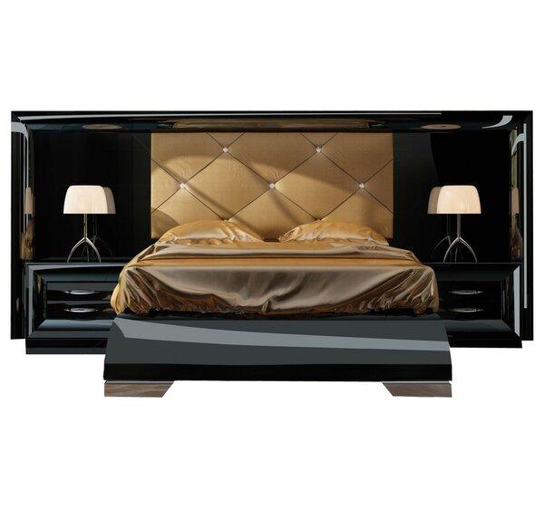 Kranz Special Headboard Platform 4 Piece Bedroom Set by Everly Quinn
