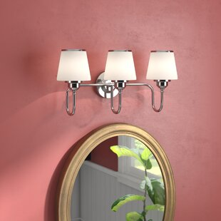 Affordable Price Milan 3-Light Vanity Light By Andover Mills