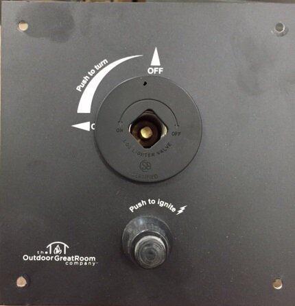 Key Valve Control Panel by The Outdoor GreatRoom Company