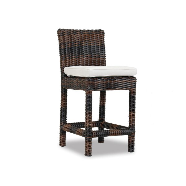 Montecito 26 Patio Bar Stool with Cushion by Sunset West
