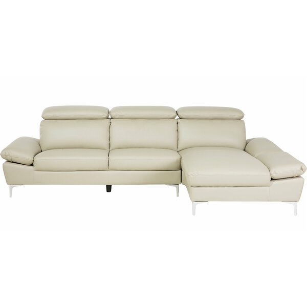 Halsey Right Hand Facing Modular Sectional by Orren Ellis