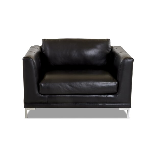 Maplecrest Leather Big Armchair By Wrought Studio