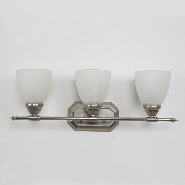 Halcott 3-Light Vanity Light by Charlton Home
