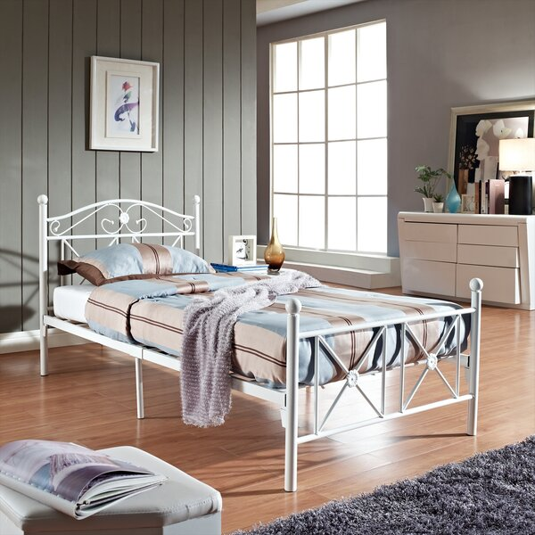 Cottage Twin Platform Bed by Modway