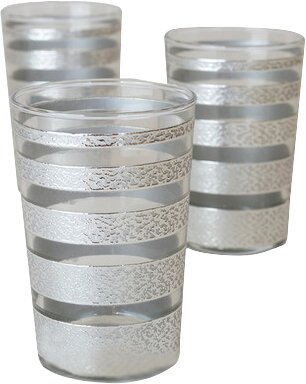 Luxury Ring Tea Glass (Set of 6) by Casablanca Market