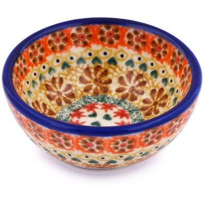 Polish Pottery 5 oz. Stoneware Bowl by Polmedia