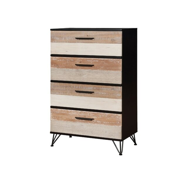 Forsman 4 Drawer Chest by Union Rustic