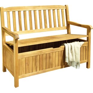 DeSales Wood Storage Bench  sc 1 st  Wayfair & Wood Deck Boxes u0026 Patio Storage Youu0027ll Love | Wayfair