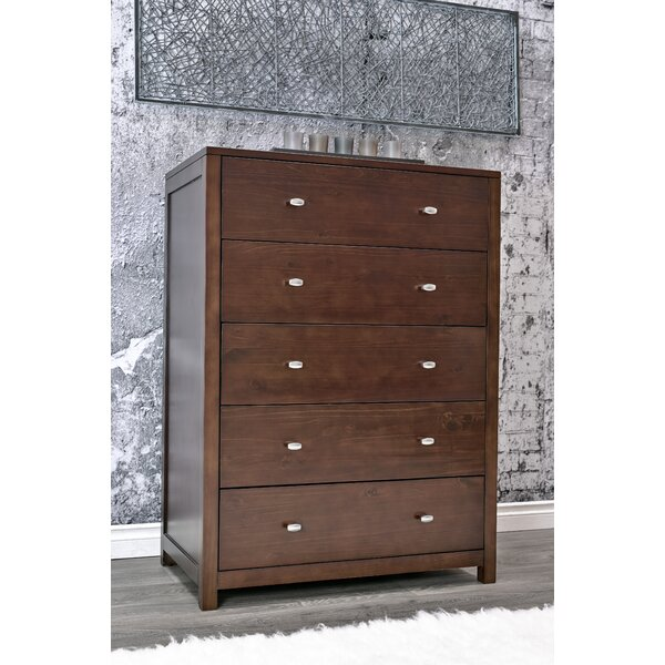 Stowers 5 Drawer Chest by Charlton Home